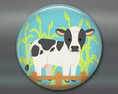 farm animal fridge magnets, gift for kids, cute magnets, cute kids magnets, kitchen decor, play magnets, magnet set