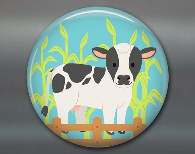 """3.5"""" farm animal fridge magnets, gift for kids, cute magnets, cute kids magnets, kitchen decor, play magnets, magnet set"""