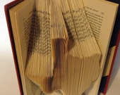 Texas Folded Book Art