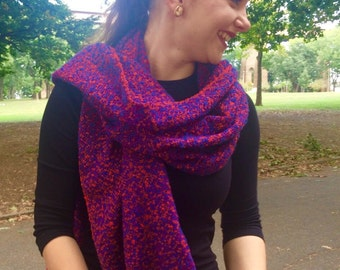 Woven, Luxuriously Soft, Very Light and Warm  Cashmere blend/Silk Scarf