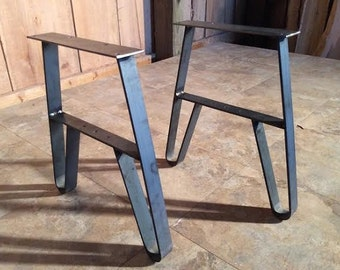 Brendas 3 Sets For ColoradoFlat Iron Metal Table Bench Legs Entry