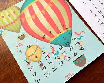 2016 REFILL Desk Calendar - Seasonal