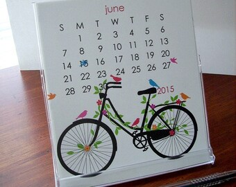 End of Year 2015 REFILL Desk Calendar - Seasonal