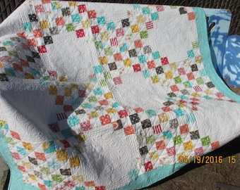 Beautiful Handmade Lap Quilt