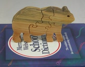 Bear Puzzle - Child's Puzzle - Wooden Bear- Kid's Toy - Kid's Decor