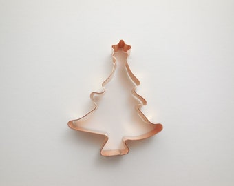 Small Christmas Tree with Star Cookie Cutter - Hand Crafted by The Fussy Pup
