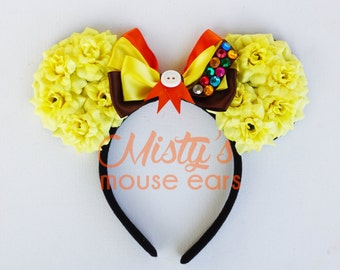 Inspired Up Russell Wilderness Badge Rose Mouse Ears