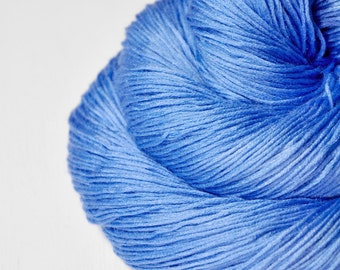 Clear summer sky - Silk/Cashmere Lace Yarn