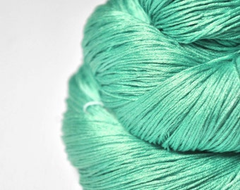 Green Sea - Silk Lace Yarn