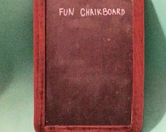 Old Classroom Wooden Chalk Board