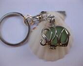 animal key ring elephant purse charm elephant locket key chain