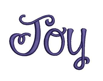 Joyce Embroidery Machine Alphabet  Font Set 20001 Instant Download (Includes BX Format)