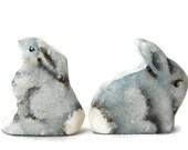 Wooden Noahs Ark Animals Rabbit pair