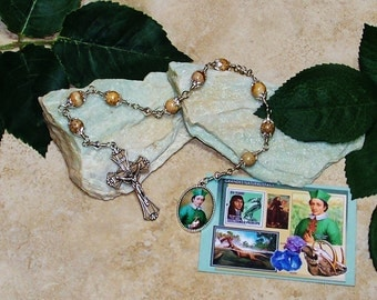 LIMITED EDITION Unbreakable Catholic Chaplet of Blessed Nicolas Steno - Patron of Scientists