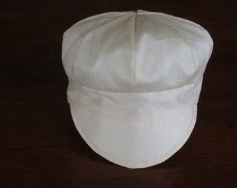 Baby Newsboy Cap Baby Newsboy Hat Ivory Baby Cap