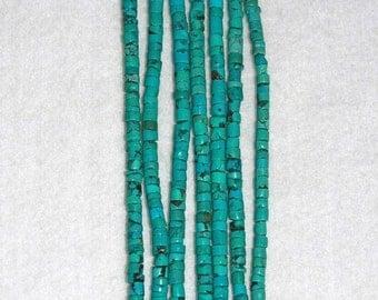 Turquoise Heishi Beads 3mm