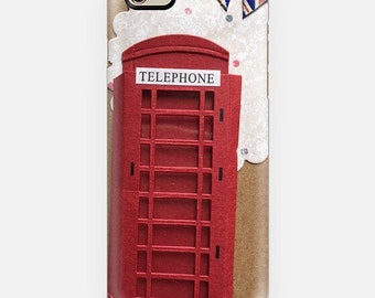 iPhone 6 phone cover - London red phone box