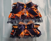 Syracuse University Orange Garter Set