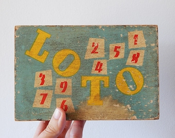 french lotto box loto toy