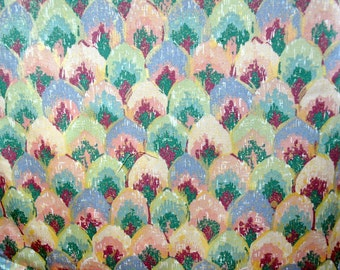 """1-1/2 Yards Mill Creek Fabrics """"The Carousel Collection"""" Drapery or Upholstery Fabric Yardage"""