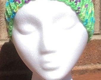 Apple Green Varigated Headband