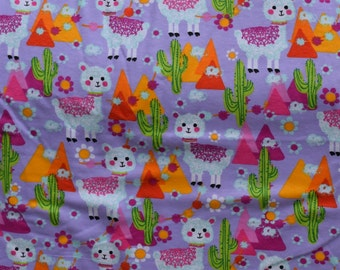 Llama print, cactus, and mountains Flannel pants pajama dorm lounge made to order your choice size XS - 2X