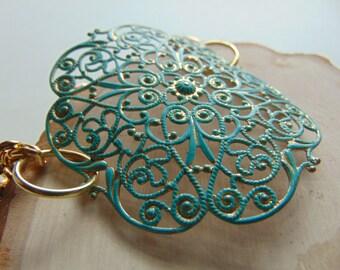 Verdigris Moroccan Bracelet