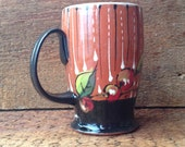 Tall Black Cherry Mug