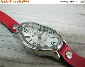 Leather Watch-Women wrist watch-Bracelet wrap Watch Watch For Women Leather strap band Wrap Watch Bracelet Antique Leather Watch-Women watch