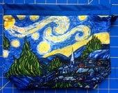 Starry Night Drawstring Project Bag