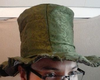"""Sm/M, Limited Ed"""" Top Hat with stash pocket inside-"""