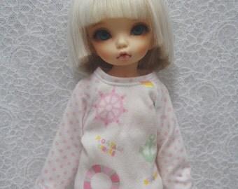 Super Dollfie Yo SD Littlefee Sweater - Ocean