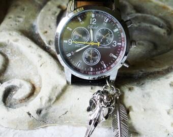 Medium Weight Body Steampunk Wrist Watch   C 322