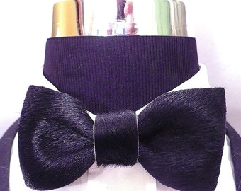 Leather Preformed Bow Tie 7