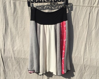 Recycled sweater skirt large   sl0003