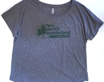 Pacific Wonderland T (ladies dolman)