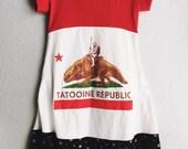 Girls - Star Wars Tatooine Republic Dress (size 8) Ready to Ship