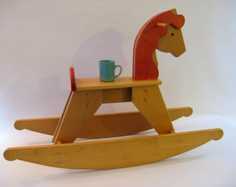 Denmark Design Rocking Horse Large Vintage - Excellent condition - Sturdy & Solid