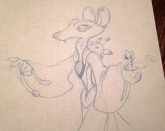 Mage Rat Sketch