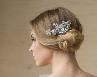 Crystal hair comb Vine headpiece Bridal hair accessories Bridal hairpiece Wedding headpiece Wedding hair comb Bridal hair comb