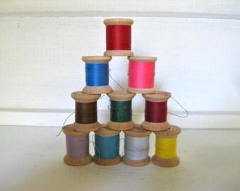 10 Spools of Belding Corticelli Thread