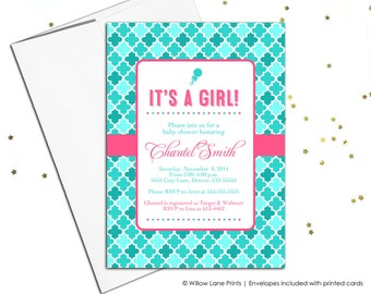 DIY baby shower invitations (755)