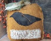Fall Primitive Harvest Pumpkin Cupboard Tuck