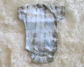 Onesie//Naturally Dyed Organic Cotton//Newborn
