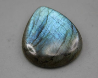 Blue Pear Labradorite Cabochon