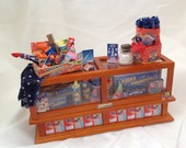 Dolls House Miniatures - 1/12th FIREWORK DISPLAY CABINET