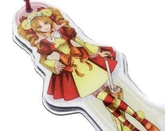 Red Lolita bookmark