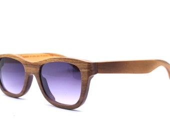 Only One TAKEMOTO WALKER2012 olive  wood  handmade prescription sunglasses eyeglasses