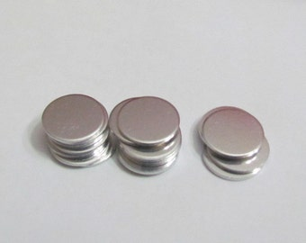 1/2 Premium Blanks -20 Gauge -  Round and tumbled