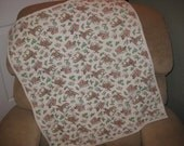 Vintage Cowboy Receiving Blanket Quilt